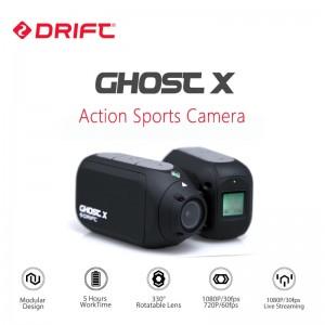 Экшн камера Drift Ghost X с разрешением 1080P до 8 часов непрерывной работы