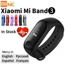 Оригинальный Xiaomi mi Band 3 умный Браслет фитнес-браслет