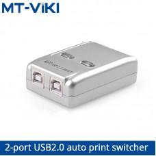 MT-VIKI USB2.0 автоматический переключатель принтера 2 порта