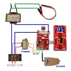NY-D04 100A  точечной сварки трансформатор контроллер
