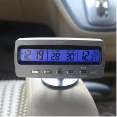 3 в 1 Термометр Часы Вольтметр для авто
