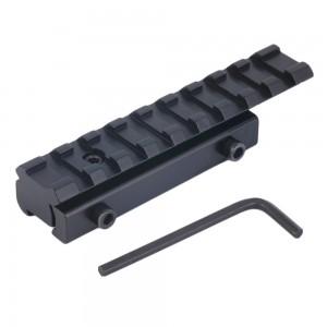 Крепление переходник ласточкин хвост - вивер/пикатинни для навесного оборудования