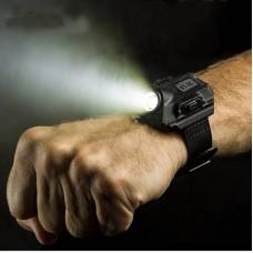 Наручные часы с фонариком XPE Q5 R2
