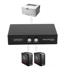 USB переключатель 2 Порта для принтера сканера